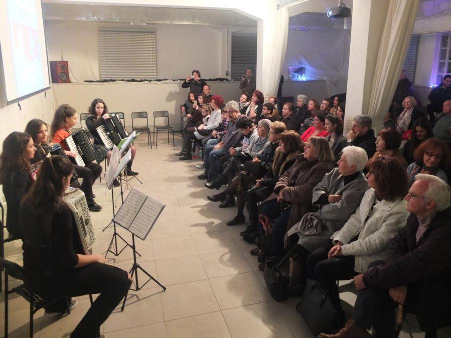 Φωτογραφία από Μουσική βραδιά με τραγούδια Χατζηδάκη